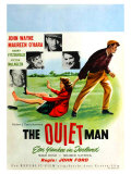 The Quiet Man  German Movie Poster  1952