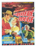 Red River  Belgian Movie Poster  1948
