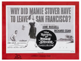 The Revolt of Mamie Stover  UK Movie Poster  1956