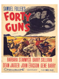 Forty Guns  1957