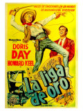 Calamity Jane  Argentine Movie Poster  1953