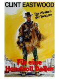 A Fistful of Dollars  German Movie Poster  1964