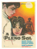 Purple Noon  Spanish Movie Poster  1964