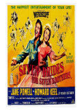 Seven Brides for Seven Brothers  UK Movie Poster  1954