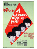 A Hard Day's Night  French Movie Poster  1964