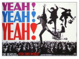 A Hard Day's Night  German Movie Poster  1964