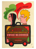 Two for the Road  Polish Movie Poster  1967
