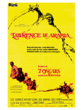 Lawrence of Arabia  Spanish Movie Poster  1963