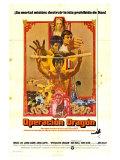 Enter the Dragon  Spanish Movie Poster  1973