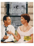The Apartment  Spanish Movie Poster  1960