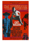 Cat Ballou  German Movie Poster  1965
