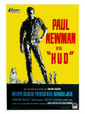 Hud  German Movie Poster  1963