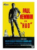 Hud  German Movie Poster  1963