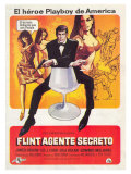 Our Man Flint  Spanish Movie Poster  1966