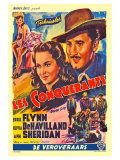 Dodge City  Spanish Movie Poster  1939