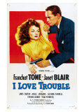 I Love Trouble  1948