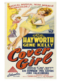 Cover Girl  Australian Movie Poster  1944