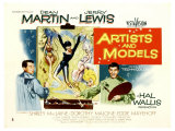Artists and Models  UK Movie Poster  1955