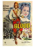Captain Blood  Spanish Movie Poster  1935