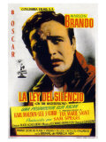 On the Waterfront  Spanish Movie Poster  1954
