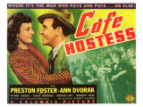 Cafe Hostess  1940