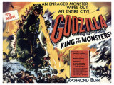 Godzilla  King of the Monsters  UK Movie Poster  1956