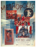Metropolis  German Movie Poster  1926