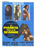 Planet of the Apes  Italian Movie Poster  1968