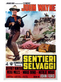 The Searchers  Italian Movie Poster  1956