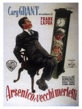 Arsenic and Old Lace  Italian Movie Poster  1944