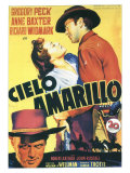 Yellow Sky  Spanish Movie Poster  1948