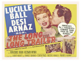 The Long Long Trailer  UK Movie Poster  1954
