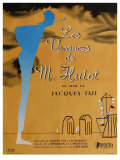 Mr Hulot&#39;s Holiday  French Movie Poster  1953