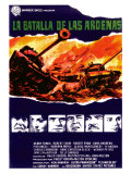 Battle of the Bulge  Spanish Movie Poster  1966