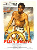 Purple Noon  French Movie Poster  1964