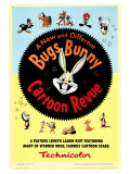 Bugs Bunny A Cartoon Revue, 1953 Reproduction d'art