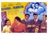 The Philadelphia Story  Spanish Movie Poster  1940