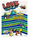 Yellow Submarine  Japanese Movie Poster  1968