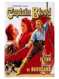 Captain Blood  Swedish Movie Poster  1935