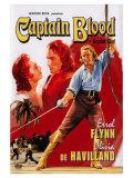 Captain Blood  Swedish Movie Poster  1935