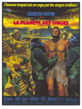 Planet of the Apes  German Movie Poster  1968