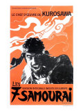 Seven Samurai  French Movie Poster  1954