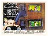 Rear Window  UK Movie Poster  1954