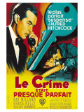 Dial M For Murder  French Movie Poster  1954