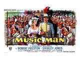 The Music Man  Belgian Movie Poster  1962