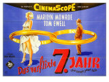 The Seven Year Itch  German Movie Poster  1955