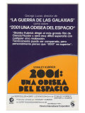 2001: A Space Odyssey  Spanish Movie Poster  1968