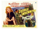 Double Indemnity  UK Movie Poster  1944