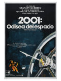 2001: A Space Odyssey  Argentine Movie Poster  1968