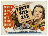 Tokyo File 212  UK Movie Poster  1951